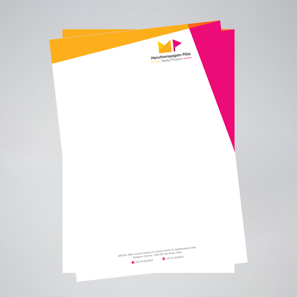 letterhead justprint print graphic design
